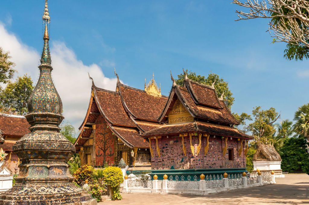 Laos, Luang Prabang architektura