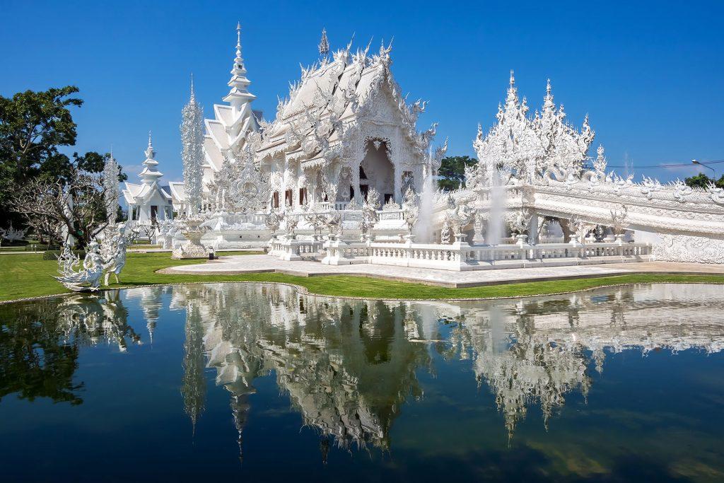 Wat Rong Khun Tajlandia wyprawa