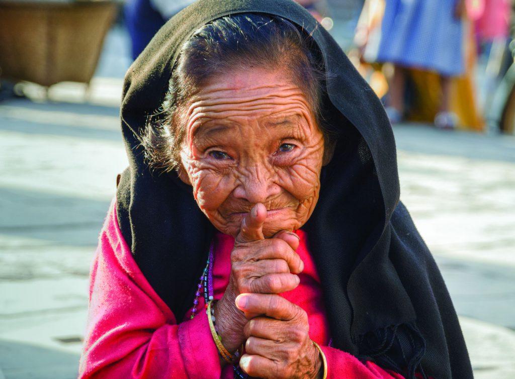 Nepalska babcia :)