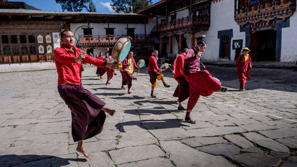 Taneczny Bhutan