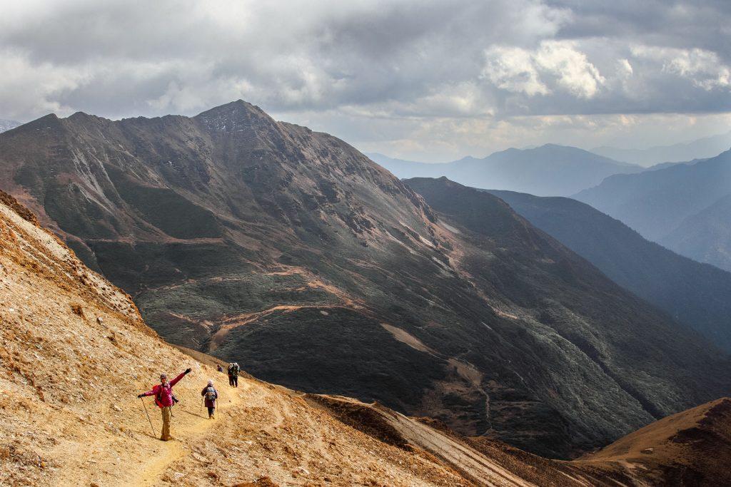 Trekking w Bhutanie