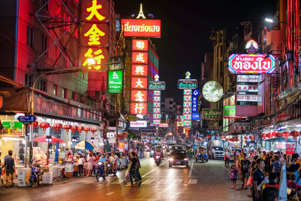 Bangkok ulice