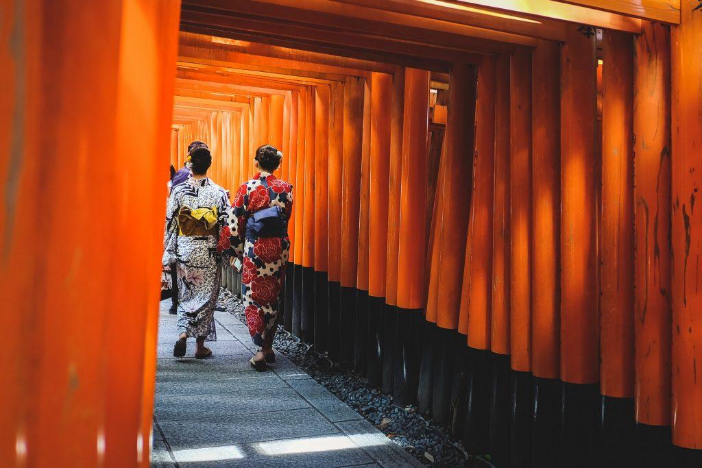 kultura japonii - kimono