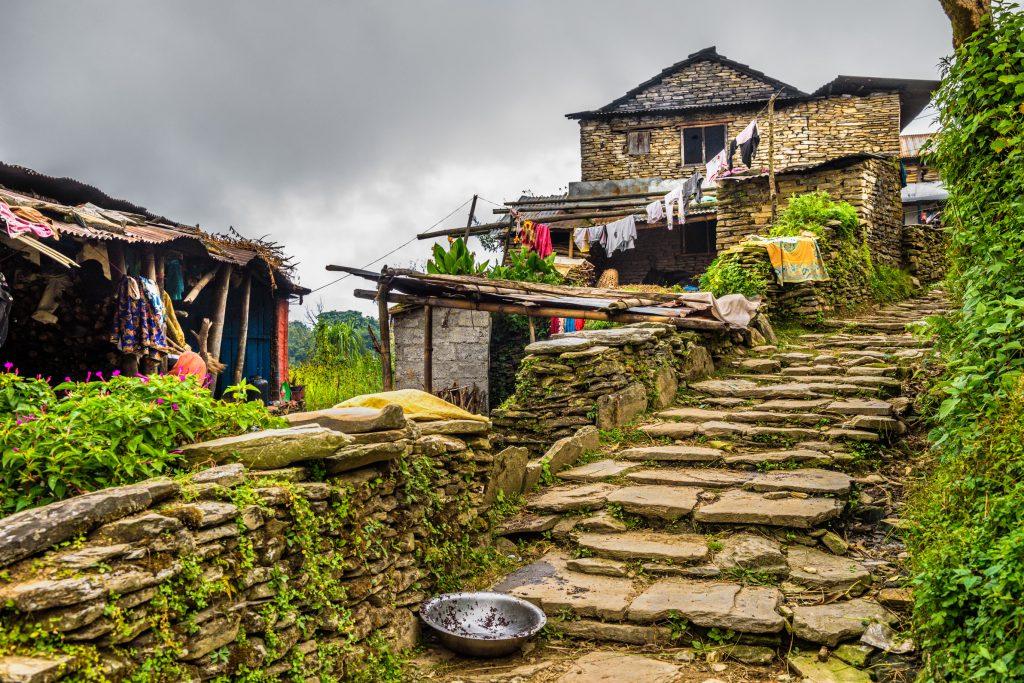 Dom w Nepalu