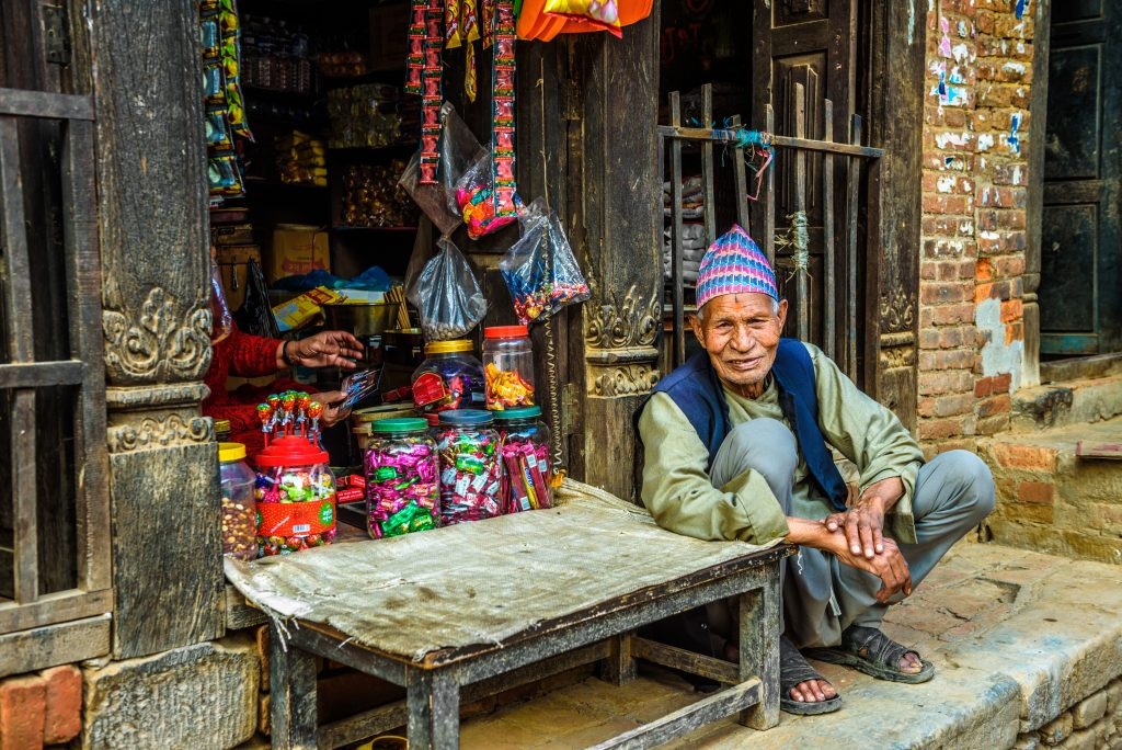 Mieszkaniec Nepalu