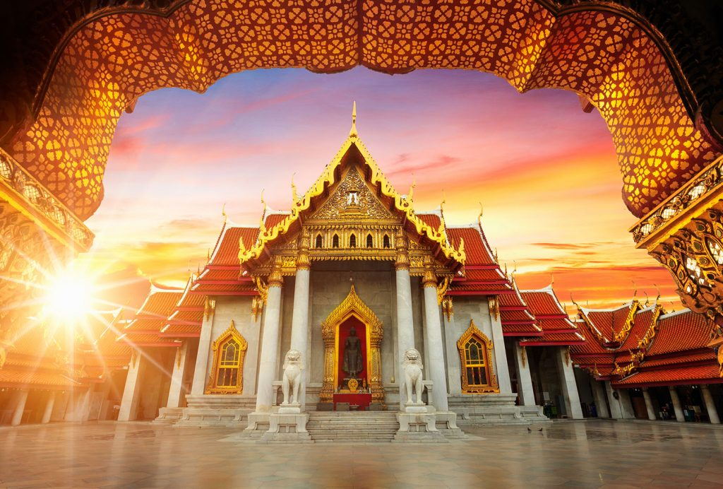 Świątynie w Bangkok