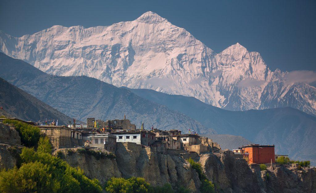 Himalajskie szczyty